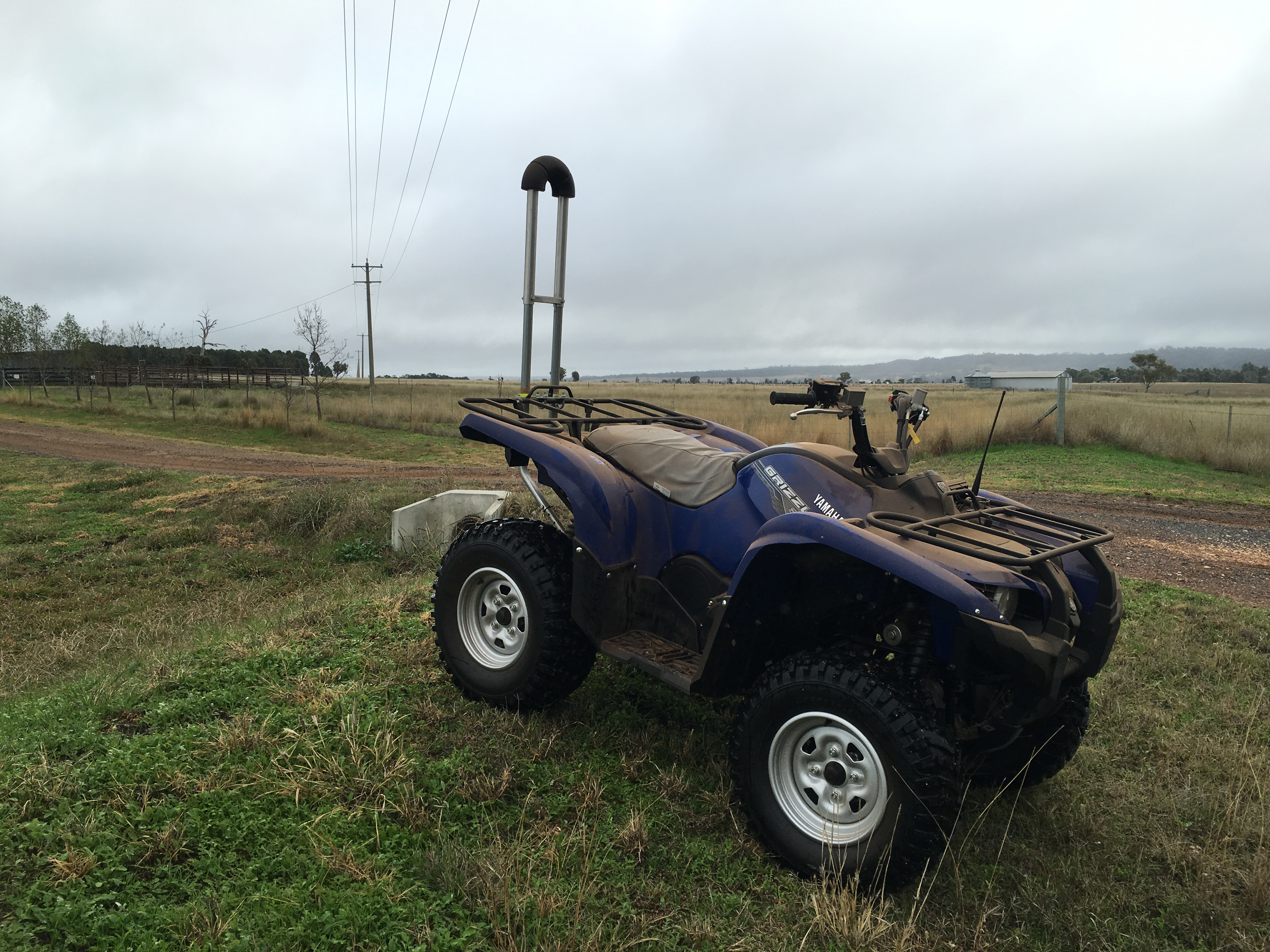 quad bike survey OPD rollbar
